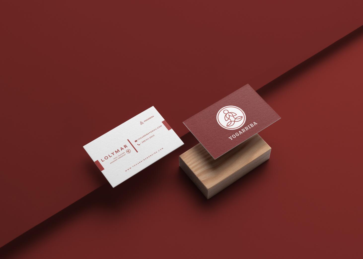 Yogarriba - Business Card